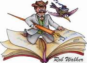 Robert W Walker, author, mystery writer