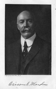 Orison Swett Marden, Author of An Iron Will